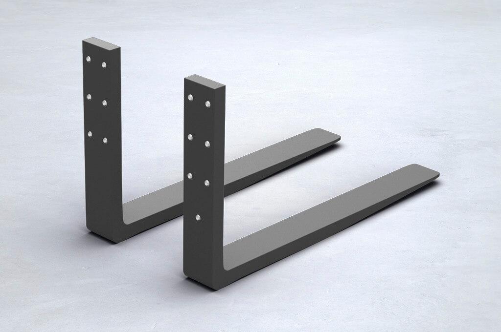 anschraubgabelzinken. Black Bedroom Furniture Sets. Home Design Ideas