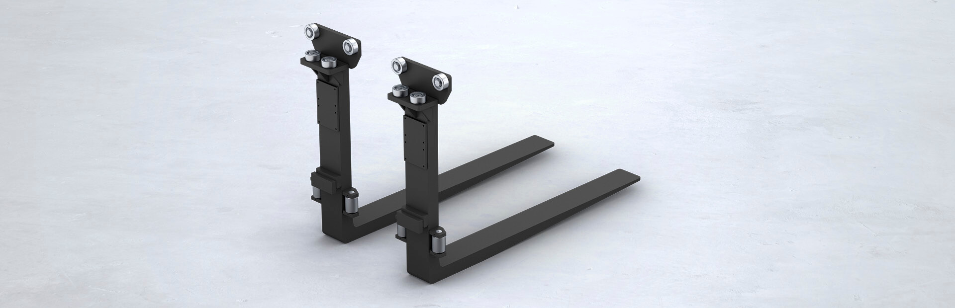 VETTER roller-guided forks